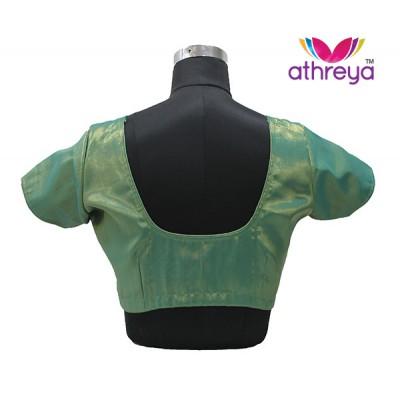 GREEN Tissue Blouse