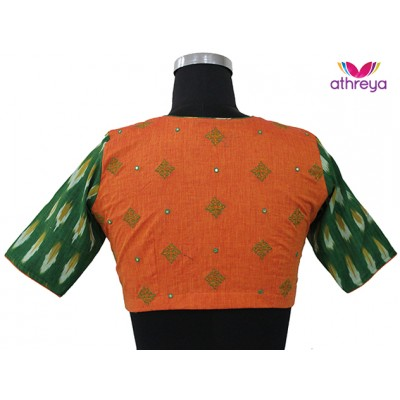 Machine Embroidery Blouse-ME004